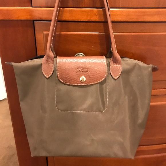 3fc32522371c5 Longchamp Handbags - Longchamp Le Pliage Tote Small New Khaki